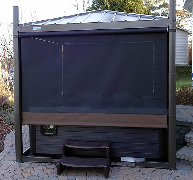 Oasis Hot Tub Cover Screen