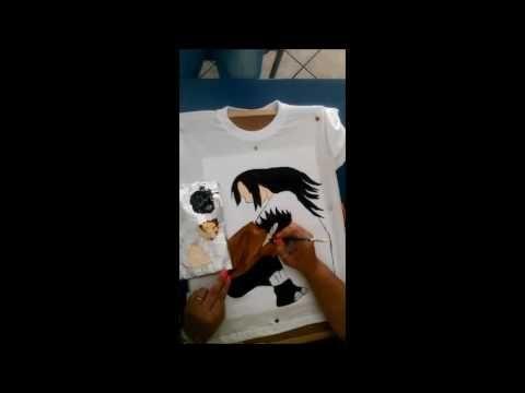 Ζωγραφική σε ύφασμα...JustArt by DinaD ,. Πόσο σε θέλω.....