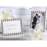 Found it at Wayfair - Kate Aspen ''Silver Pearls'' Mini Photo Frame