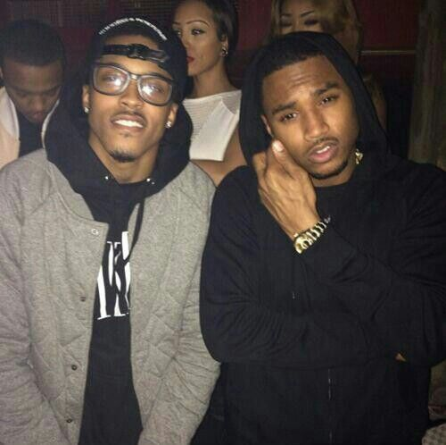 August alsina & Trey songz <3