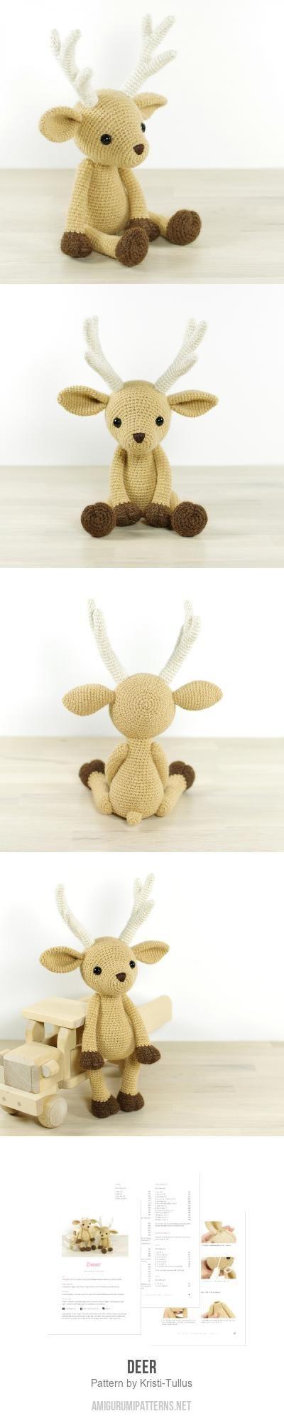 Deer Amigurumi Pattern