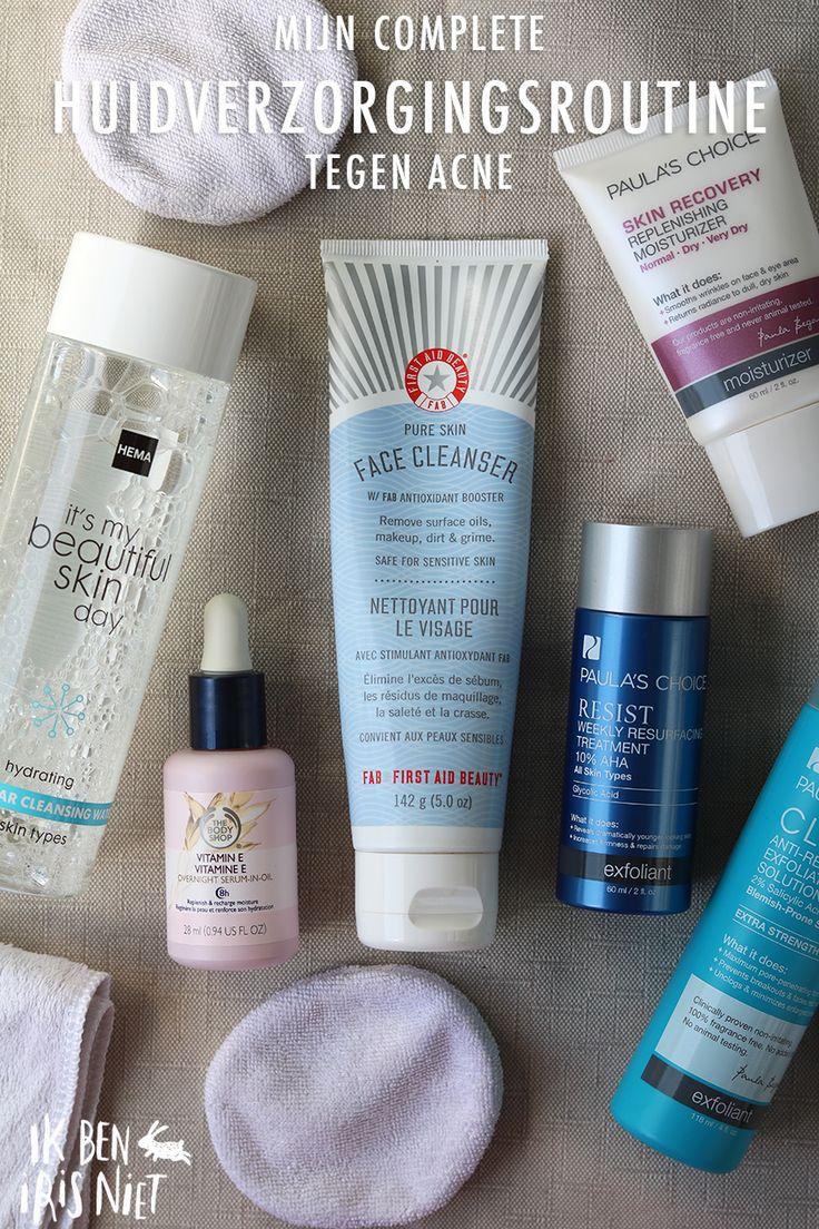 Mijn dierproefvrije huidverzorgingsroutine tegen acne / My Current Cruelty-Free Skincare Routine for Acne-Prone Skin