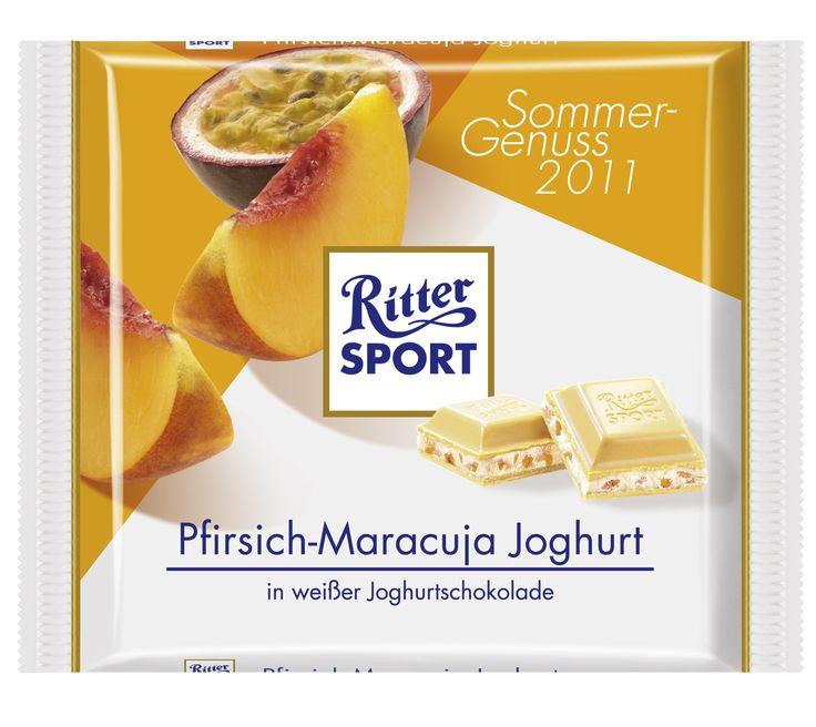 RITTER SPORT Pfirsich-Maracuja Joghurt (2011)