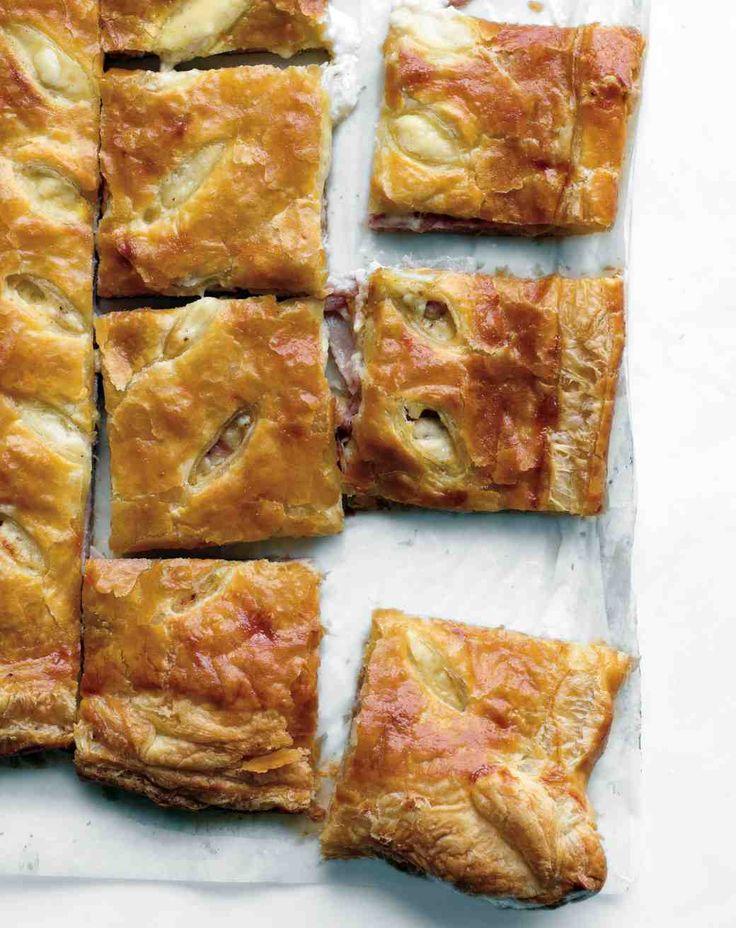 Ham and Cheese Puff Tart Recipe