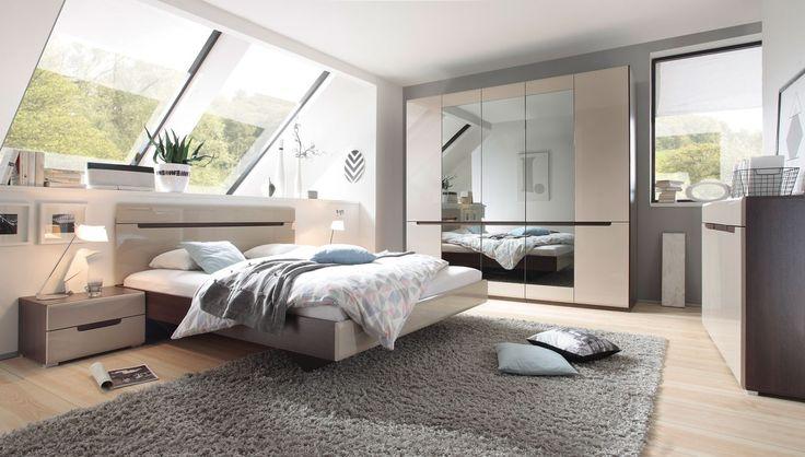 Luxury bedroom in the minimal style in colour Latte coffees. Check this out! Luksusowa sypialnia w stylu minimalistycznym w kolorze kawy Latte. Sprawdź już dziś! #bedroom #bed #coffee #latte #minimalstyle #helvetia #sale #mirjan24