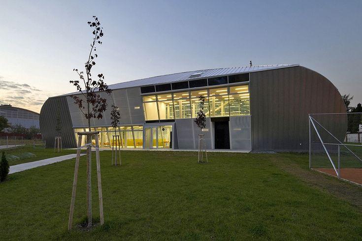 Tenisová hala   Krnov   ATX Architekti, s.r.o.