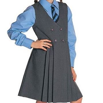 School uniforms! I might dress my kids like this anyway!