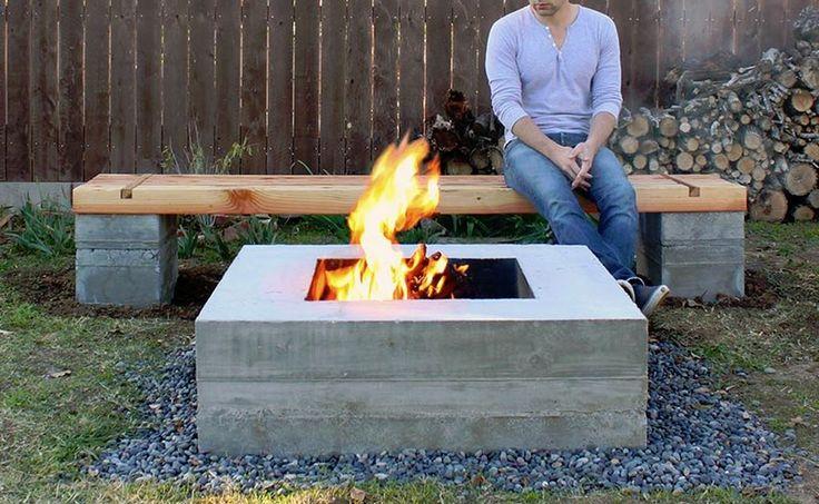 die besten 25 betonblock garten ideen auf pinterest. Black Bedroom Furniture Sets. Home Design Ideas