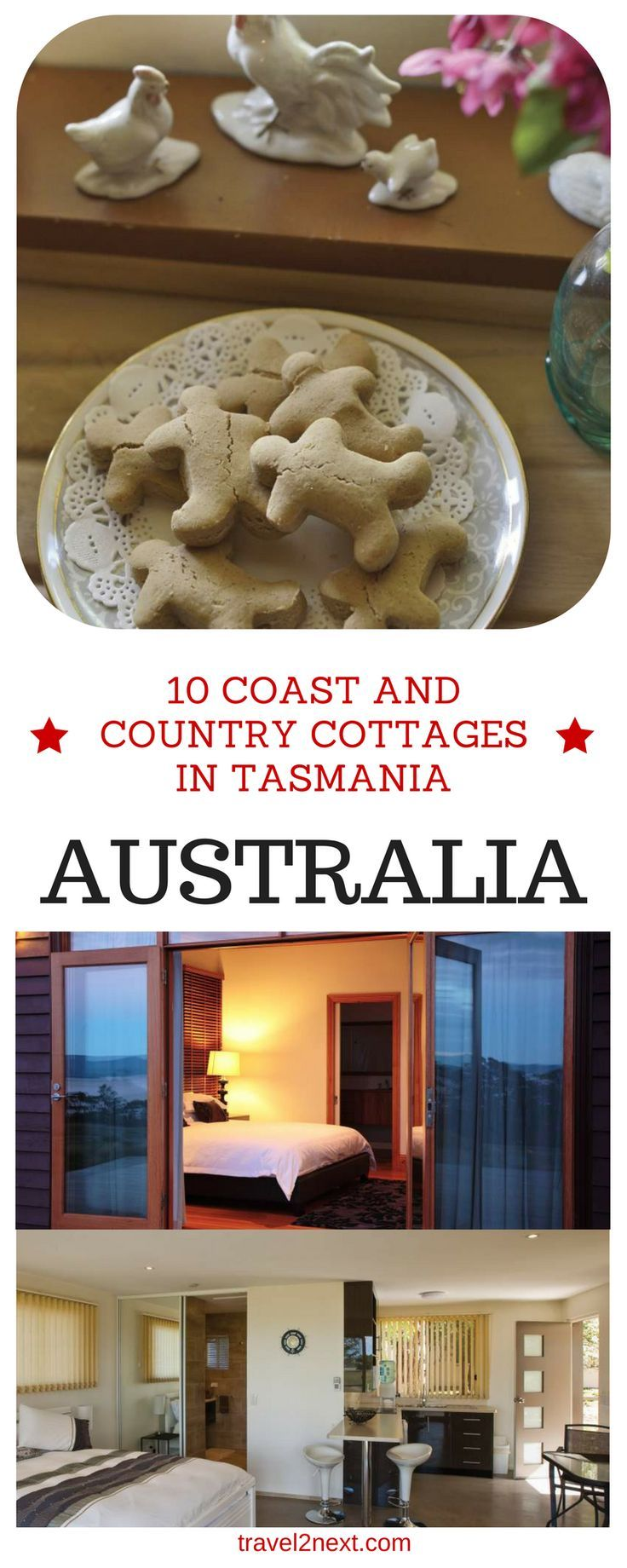 10 coast and country cottages in Tasmania. A home of stone, steel or ancient rainforest timbers, the cottages around Tasmania are immensely appealing to travellers who want to soak up the history and natural surroundings of Australia's southernmost state.