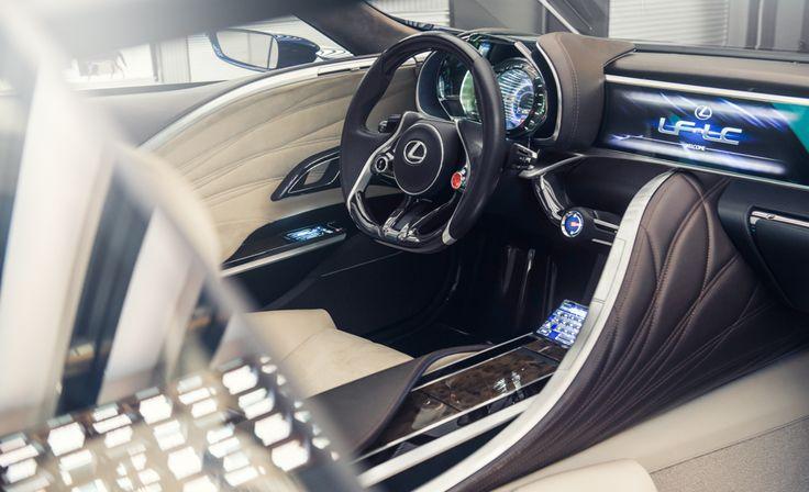 #Lexus #Design #LFCC #ConceptCar #Interior #Leather
