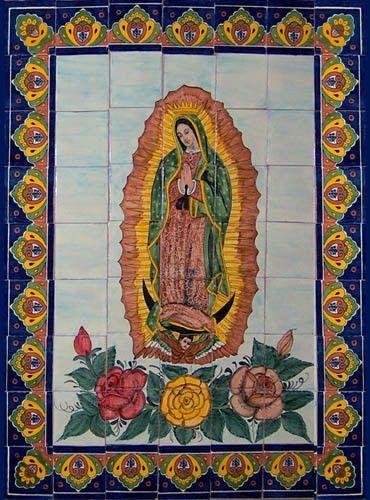 kitchen backsplash: mexican talavera murals - Mexican tiles & talavera tile murals