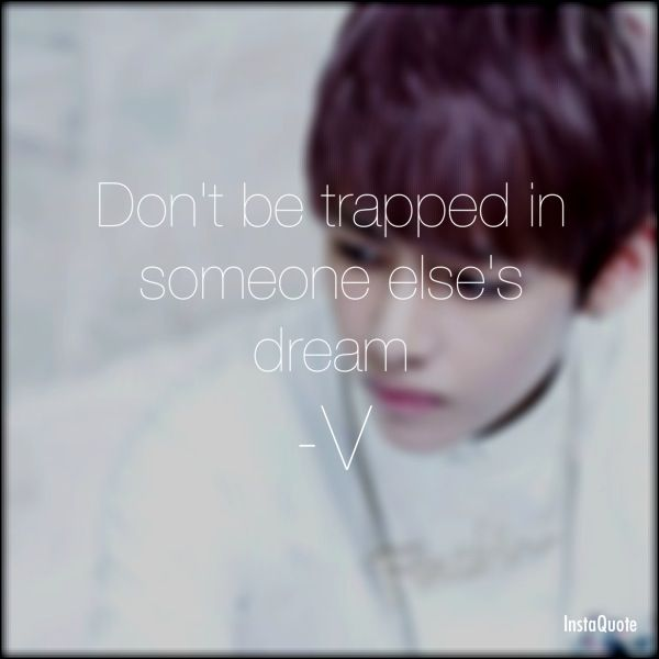 bts%252Bquotes | BTS V quote by phantom2409
