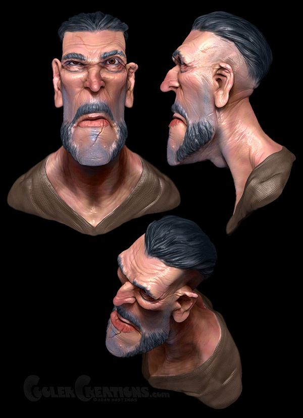Zbrush Pirate on Behance
