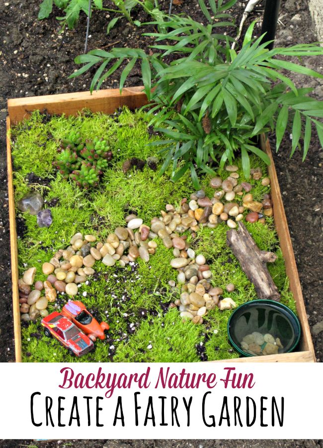 how to create a garden for children