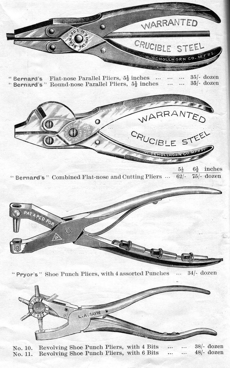 old tools | Vintage Tool Cuts 1909