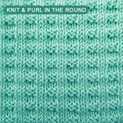 Mistake Rib Knit Stitch In The Round : 1000+ images about Knitting stitches: knit purl on Pinterest