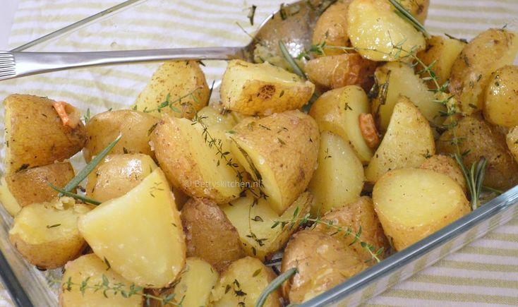 Aardappels met tijm en rozemarijn - Betty's Kitchen