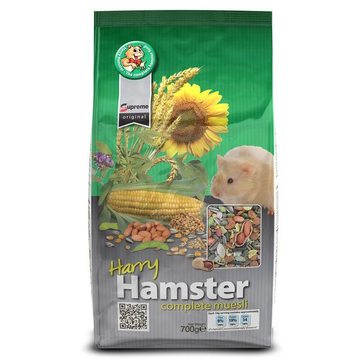 Officieel de eerste en enige voeding die is goedgekeurd door de National Hamster Council.