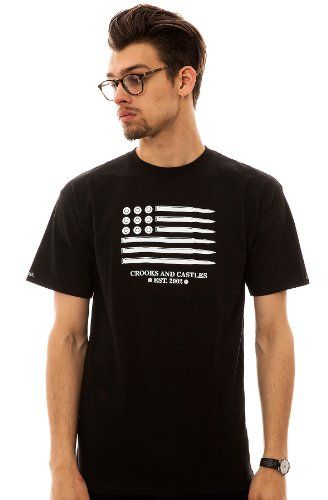 Crooks and Castles Men's The Ammo Flag Tee