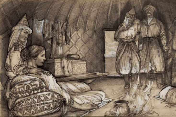 Gyula László: Geburtsbräuche