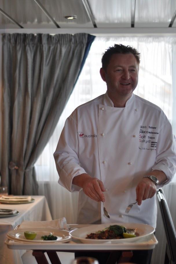 Chef Luke Mangan