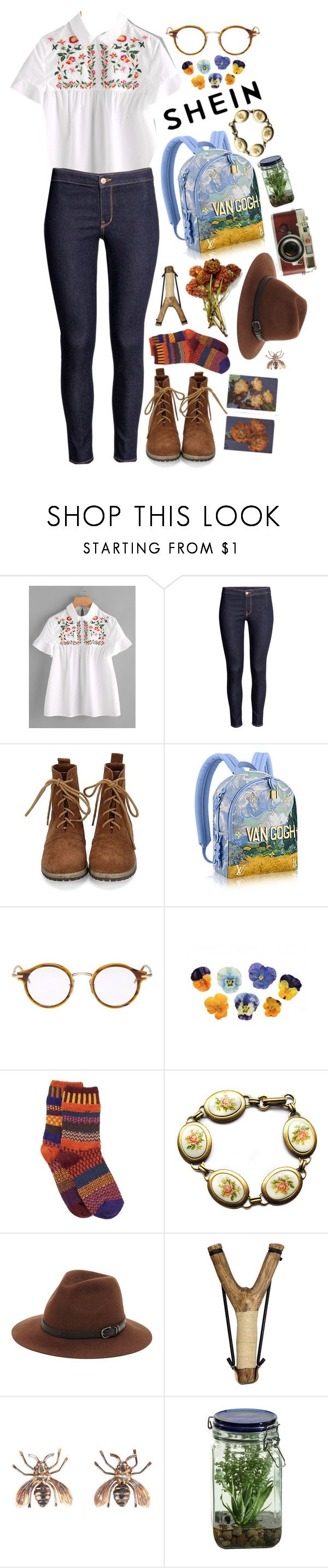 """""""A Field of Dreams"""" by lbenigni ❤ liked on Polyvore featuring Thom Browne, Solmate Socks, Parlor, Sole Society, Vernissage, Leica and Alöe"""