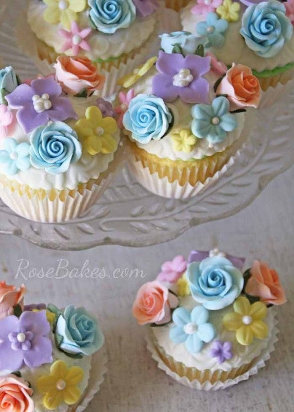 Vintage Fairy Garden Party : Cake, Cucpakes, Smash Cake, Cookies, Cake Pops and more!