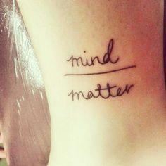 Anxiety Tattoo on Pinterest | Depression Tattoo Mental Health Tattoos ...