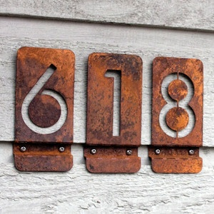 15 best House numbers images on Pinterest House numbers Address