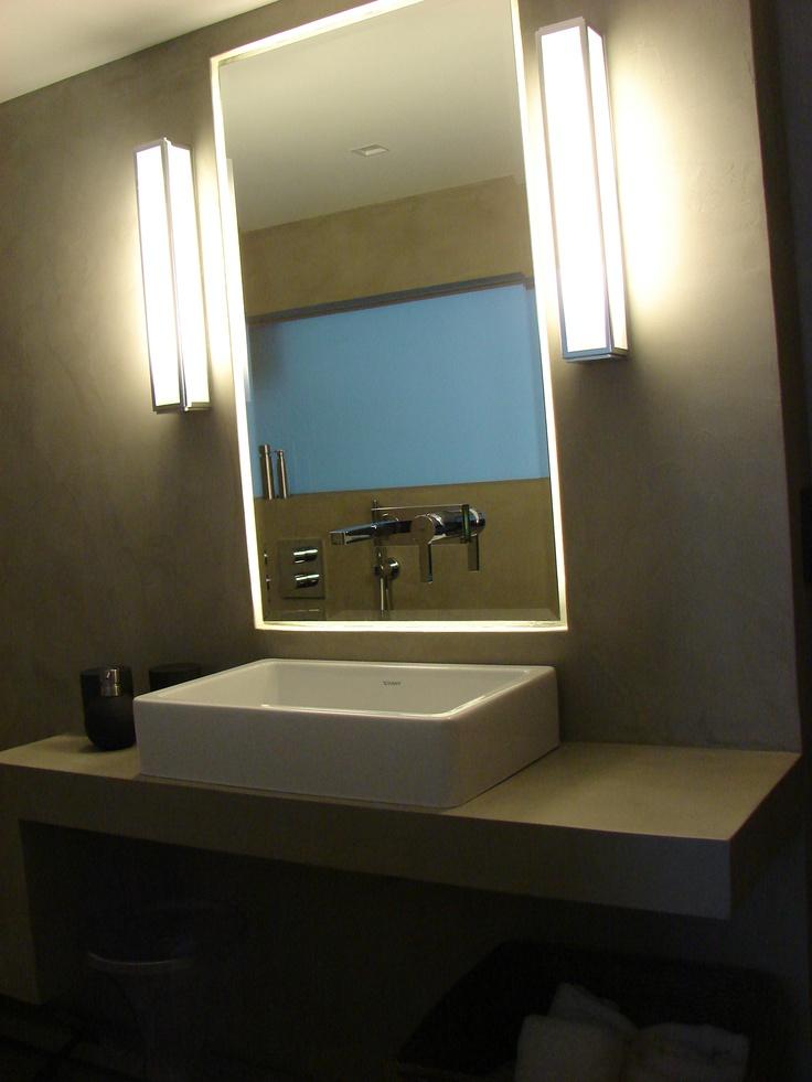 13 best Salle de bain images on Pinterest Bathroom, Bathrooms and - enduit salle de bain
