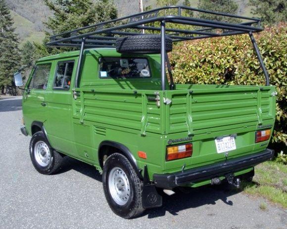 1990 VW Transporter Double Cab Syncro 4x4