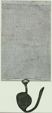 """At least 13 original copies of the 1215 charter were issued by the royal chancery at the time, they were sent to county sheriffs and bishops, who wd  have been charged for the privilege. Variations would have existed between each of these copies and there was probably no single """"master copy"""". Of these: 4 survive, all in the UK—two in the BL, 1 Lincoln Cathedral, & 1 in Salisbury Cathedral. 4 exemplifications of the 1225 charter survive: the BL; Durham Cathedral; Bodleian; The National…"""