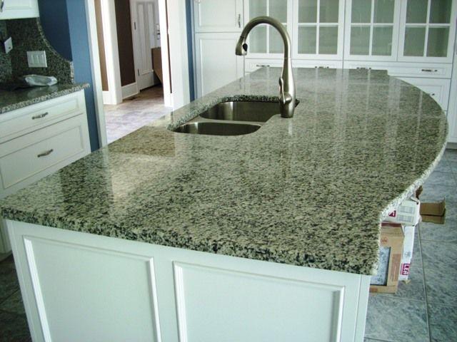 Azul Platino Granite Countertops White Cabinets Google