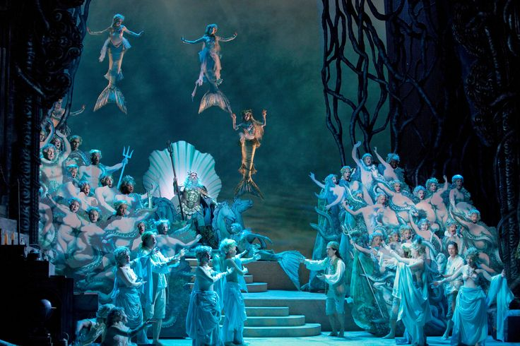 The Enchanted Island, a new opera devised and written by Jeremy Sams after Shakespeare's The Tempest and A Midsummer Night's Dream. It was premiered by the Metropolitan Opera on December 31, 2011.