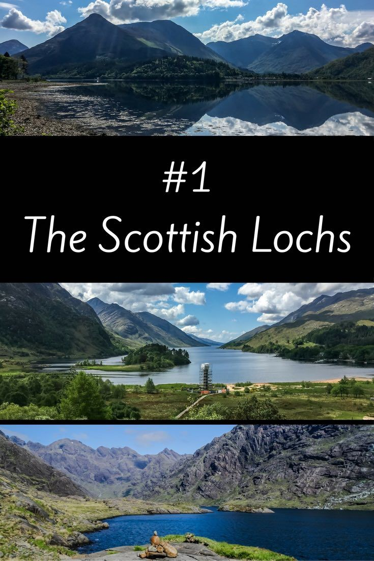 While on a Scotland Road Trip you will discover so many bodies of water. More than 30000 freshwater lochs can be found in Scotland!!!