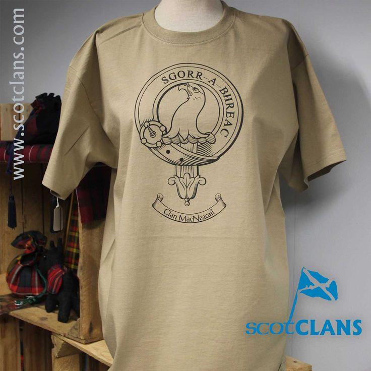 MacNacail Outline T Shirt Antique