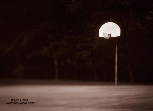 Wordless Wednesday: Hoop Dream (c) Ken Gehle Photography