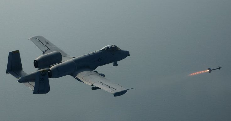 A-10 and Sidewinder