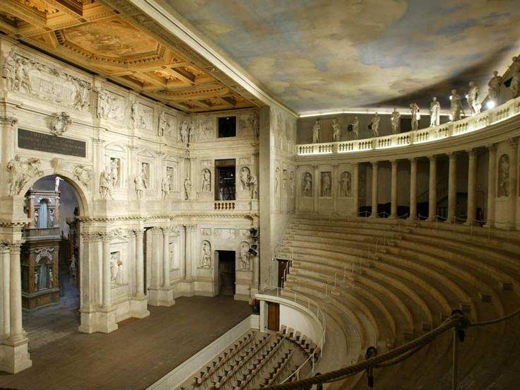 Resultado de imagen para olympic theater vicenza italy