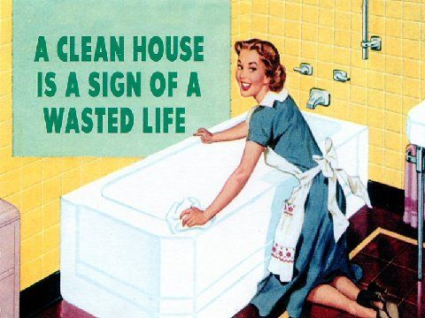 """My mom had a sign like this at home, except """"wasted"""" was substituted for """"miss spent"""""""