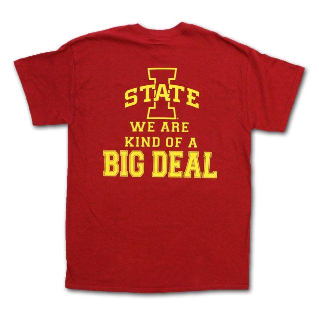 Big Deal T-Shirt - 2025595   Iowa State University Bookstore #CountdowntoKickoff #CycloneFB #CycloneFBCountdown
