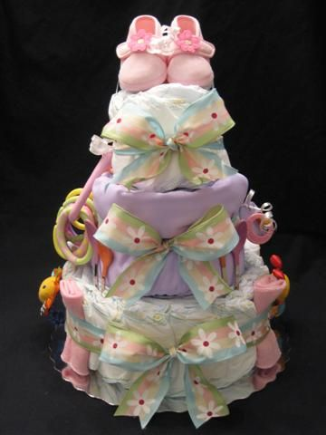 diaper cake idea 1