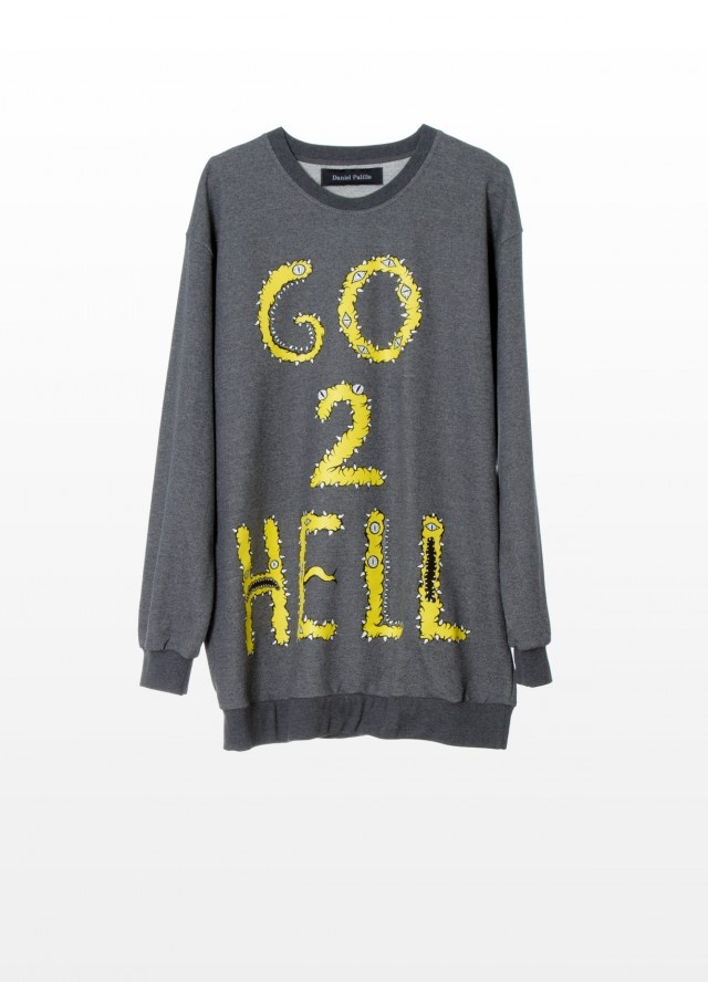 Want some/ DANIEL PALILLO AW12 Go 2 Hell Sweater #danielpalillo #material_grrrl.