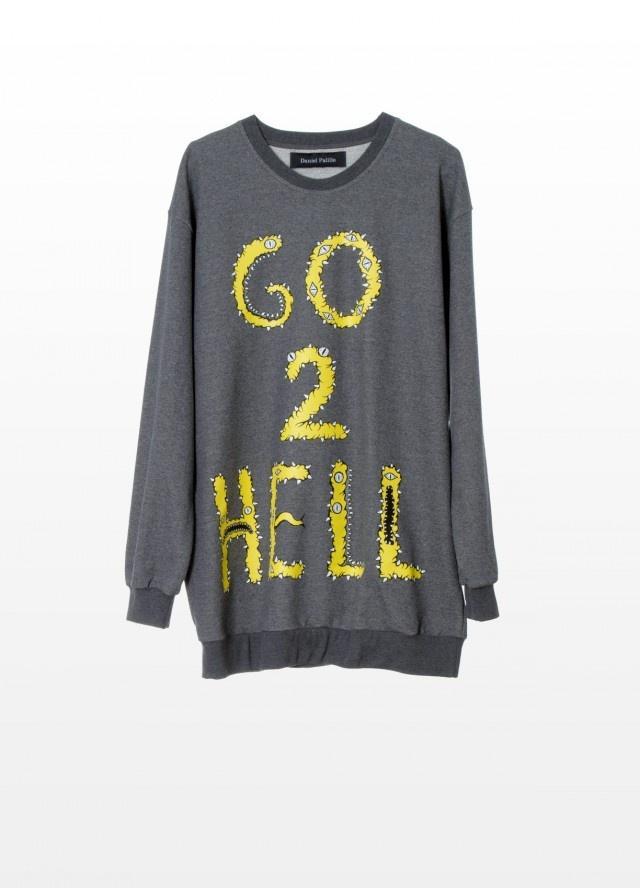 Want some/ DANIEL PALILLO AW12 Go 2 Hell Sweater #danielpalillo #material_grrrl.
