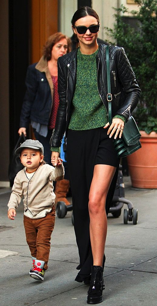 Is there a more stylish mom? We think not! Click for inspiration photos of Miranda and the adorable Flynn!