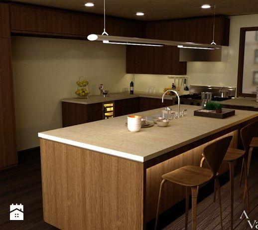 Kuchnie - Kuchnia, styl nowoczesny - zdjęcie od VALENT - Wnętrza & Remonty & Wykończenia & Meble na wymiar