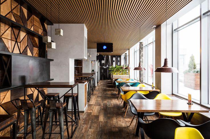 ROOF CAFE - Лучший интерьер ресторана, кафе или бара   PINWIN - конкурсы для…