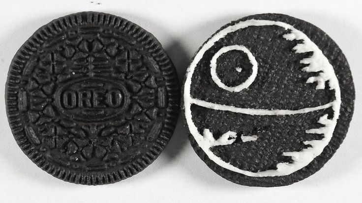 Drawing the Death Star on an Oreo Cookie | Star Wars Art   https://youtu.be/5qissKlSEtk