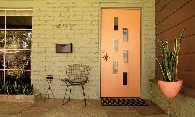 Fontenot Doorlite Kit - Add to existing door to create a midcentury modern vibe on your front door