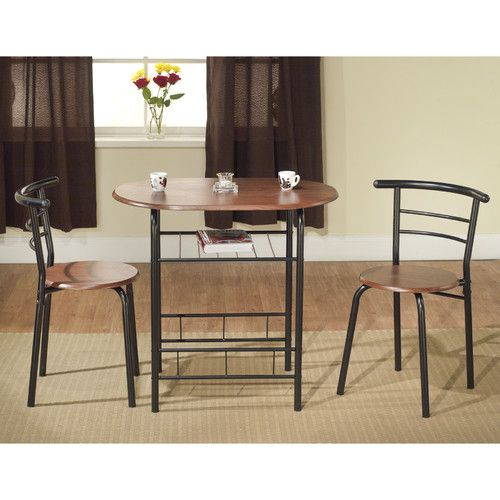 Found it at Wayfair - Bistro 3 Piece Compact Dining Set